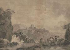 Estampes, gravures et lithographies du XIXe siècle et avant en paysage