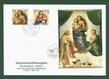Deutschland 2012 - Parallelausgabe mit Vatikan - Joint Issue Sixtinische Madonna
