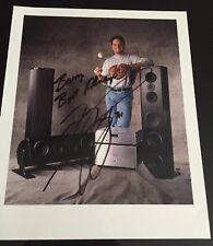MIKE PIAZZA hand signed autograph 8x10 photo casual unusual dodgers