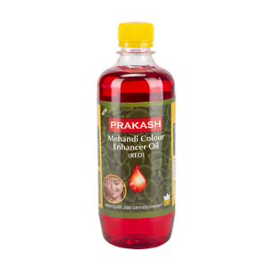 30 ML,Premium Mehandi Oil (Red) To Boost & Enhence Tattoo Colour By Prakash,1Pc
