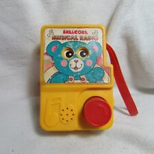 Vintage Shelcore Musical Toy Radio, Wind-up Lullaby