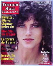 France Soir Magazine du 18/04/1981; Clio/ Big Joe/ Revelli/ Jersey/ Brayer
