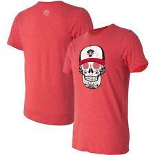 Mariachis de Nuevo M-xico Copa de la Diversion Sugar Skull T-Shirt - Red