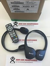 07-16 CHRYSLER Town Country VES UCONNECT 2 Headphones OEM KIT REMOTE 05091246AA