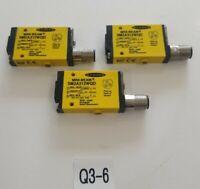 *PREOWNED* LOT OF 3 Banner SM2A312WQD Mini Beam Sensors + Warranty!