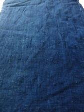 "3E02z110 Vintage Japanese Kimono Cotton Momen Boro Fabric Indigo blue   74"""