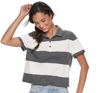 Women's Juniors' Rugby Striped Polo Size: L, XL, 2XL / Colors MSRP $24