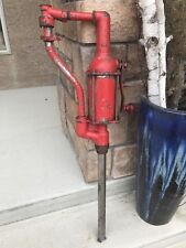 Vintage Wayne Gas Pump Hand Pump Lubster Pump
