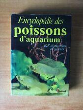 ENCYCLOPEDIE DES POISSONS D'AQUARIUM 198 illustrations en couleurs
