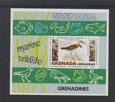 Grenada Grenadines - 1979, Marine Wildlife, Plover Bird sheet - MNH - SG MS353