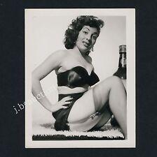 Pinup Girl w HOT BRA/Giovane donna in aufreizender biancheria * VINTAGE 60s US PHOTO