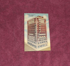 Case Hotel in Los Angeles Souvenir Tourism Travel Postcard -  Unused