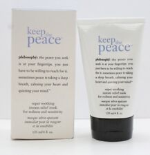 Philosophy Keep The Peace Super Soothing Instant Relief Mask, 4 Ounce (NEW)