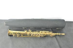 Vintage Henri Selmer Soprano Saxophone pre-model 22 Gold Medal