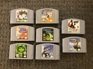 Nintendo 64 Game Lot - 8 Game Lot