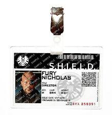 Agents of Shield ID Badge Hydra Nick Fury Avengers Cosplay Costume Comic Con