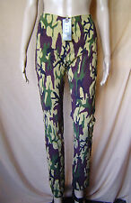BNWT WOMENS DESERT CAMOUFLAGE LEGGINGS/STRETCH TROUSERS UK SIZE 8 EU 36
