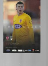 PROGRAMME - DAGENHAM & REDBRIDGE v MAIDENHEAD UNITED - 7 DECEMBER 2019