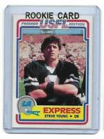 1984 Topps USFL # 52 STEVE YOUNG ROOKIE RC REPRINT RP Los Angeles Express