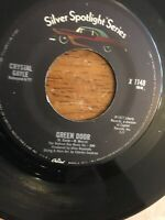 """CRYSTAL GAYLE-GREEN DOOR/DON'T IT MAKE YOUR BROWN EYES BLUE 7""""45 PLAYS EX."""