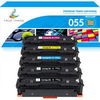 5PK Compatible For Canon CRG-055 color Toner 055 imageCLASS MF743Cdw MF745Cdw