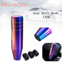 Car Manual Gear Shift Shifter Knob Stick Lever Neo Chrome Aluminum AU