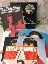 """Elvis Presley's Greatest Hits 7 12"""" LP Box Set + Booklet 1978 Readers Digest"""