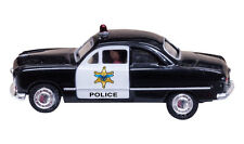 Just Plug Ho-Police Car W/Lighted Headlights & Taillights - Woodland Scenics