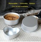 Removable / Unmovable Bottom Round Heart Home Cake Baking Mold Tins Pan Bakeware
