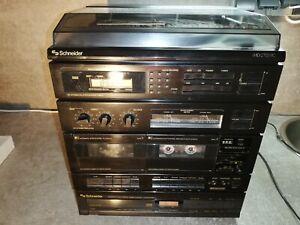 Hi-Fi Stereoanlage Schneider MIDI2755RC und Schneider CDP7300RC