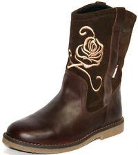 Chaussures marron moyen en cuir pour fille de 2 à 16 ans