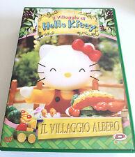 IL VILLAGGIO DI HELLO KITTY IL VILLAGGIO ALBERO DVD CARTONI ANIMATI OTTIMO DYNIT