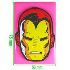 Iron Man Face Silicone Mould by Fairie Blessings