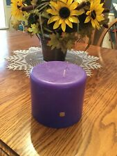 Partylite Grape 3-wick candle 6x5