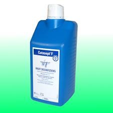 Cutasept F Hautdesinfektion farblos Antiseptikum 1000ml
