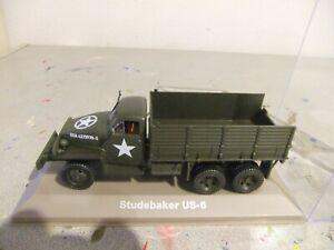 camion studebaker US 6 armee etat neuf avec sa boite 1/43