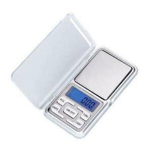 Tragbare elektronische Waage Digital Gramm Waage Schmuck Gewicht 500 g 0,01 H5Y6
