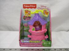 Fisher Price Little people Rapunzel & Pascal's float Disney princess Parade toy
