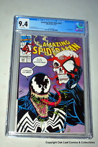 Amazing Spiderman 347 CGC 9.4 Venom Cover Marvel Comic Book 1991