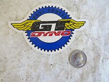 GT  DECAL BMX FREESTYLE CRUISER RACING STICKERS NOS BLACK