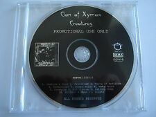 ⭐⭐⭐⭐ Clan Of Xymox  ⭐⭐⭐⭐ CREATURES  ⭐⭐⭐⭐ 11 Track PROMO CD ⭐⭐⭐⭐ FOR COLLECTORS ⭐
