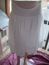 UP THE DUFF MATERNITY SKIRT WHITE SIZES 12 OR 14 NWT