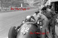 Luigi Musso Maserati 250F Belgian Grand Prix 1955 Photograph 1