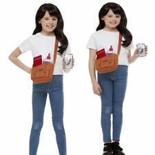 Kids Girls Roald Dahl Matilda Costume Book Week Day Instant Fancy Dress Kit + Wi