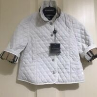 ⭐️ Genuine BURBERRY BABY GIRLS QUILTED JACKET 18 Months -2 Years   RRP £330