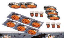 Halloween Deko Set 19-teilig 6 Teller 6 Servietten 6 Becher 1 Tischdecke Party