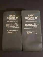(LOT OF 2) SAM Splint II Military Version 2 First Aid Trauma Emergency Tool