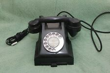Old Black Vintage Bakalite Telephone