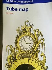 London Tube Subway underground pocket wallet map fold out paper purse New 2015
