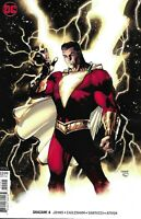 Shazam Comic Issue 4 Limited Variant Modern Age First Print 2019 Johns Eaglesham